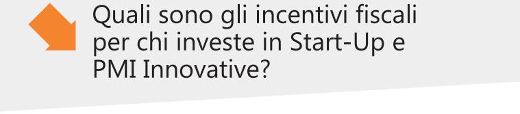 Quali sono gli incentivi
