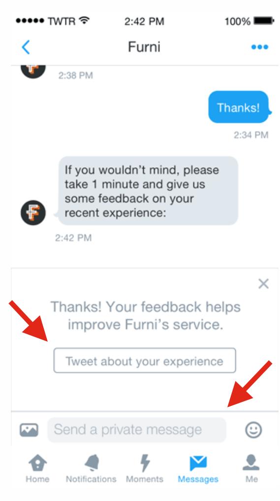 05 - Mandaci il tuo feedback