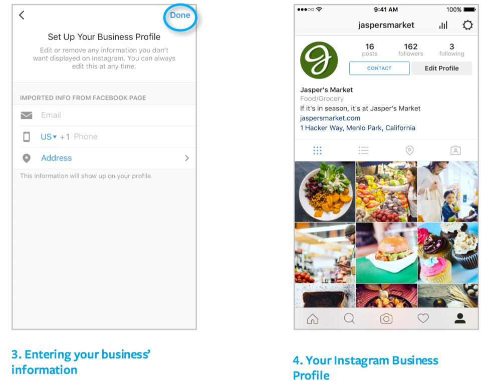 02 - inserisci le informazioni del tuo business